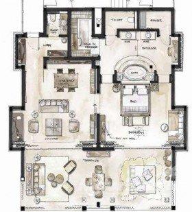 Beachfront St. Regis Grand Suite (150 m²)