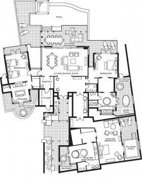Presidential Suite Sanctuary (451 m²)
