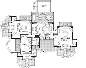 Three-bedroom Garden Residence Villa (288 m²)