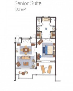 Senior Suite Garden View (102 m²)