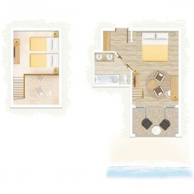 Family Duplex Sea Facing