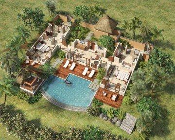 Luxury Double Suite Pool Villa - 2 bedrooms