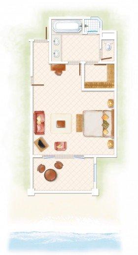 Deluxe Ground Floor Room