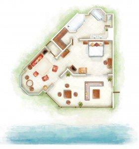 Club Senior Suite Beach Front