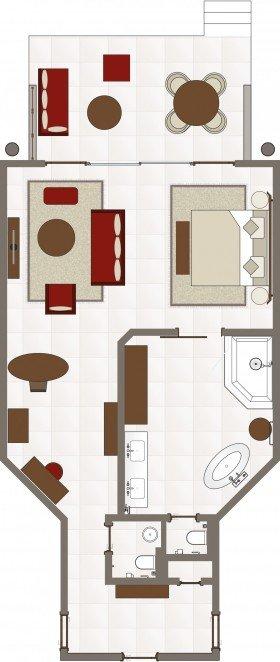 Tropical Suite (85 m²)