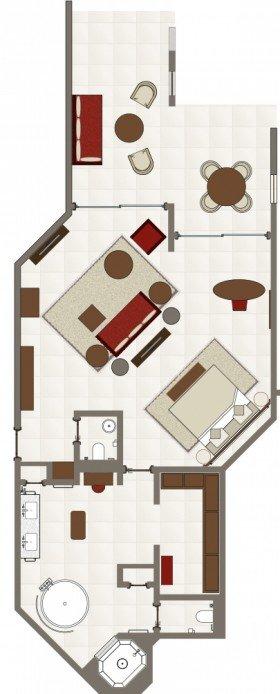 Palm Suite (106 m²)