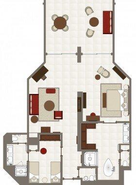 Garden Suite (140 m²)