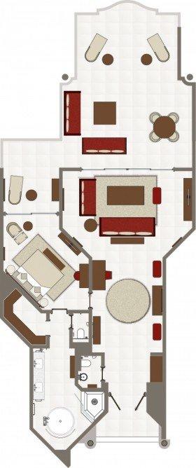 Penthouse Suite (196 m²)