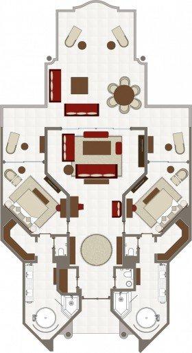 Presidential Suite (263 m²)